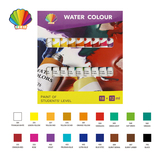 Students grade-Water color 12ml*18colors with window