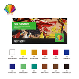 Professional grade-Oil color 12ml*12colors