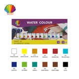 Students grade-Water color 12ml*12colors with window