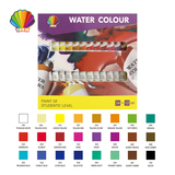 Students grade-Water color 12ml*24colors with window