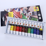Acrylic color 12ml*12colors with hanging hole