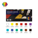 Professional grade-Gouache color 12ml*12colors