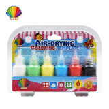Air-drying coloring template
