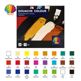Professional grade-Gouache color 12ml*24colors